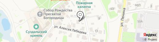 Гостевой дом Купца на карте Суздаля