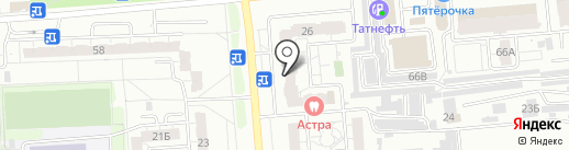 Безыменского 26а, ТСЖ на карте Владимира