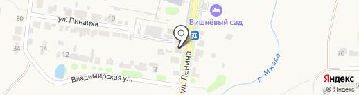 Apartamenty Lenina 5 на карте Суздаля