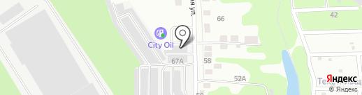 Автосток на карте Владимира