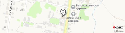 Суздальский дом-интернат для престарелых и инвалидов на карте Суздаля