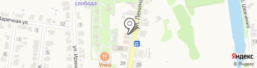 Усадьба Сурикова на карте Суздаля