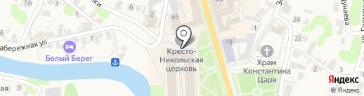 Магазин косметики и бытовой химии на карте Суздаля