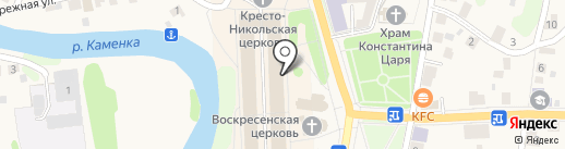 Раздолье на карте Суздаля
