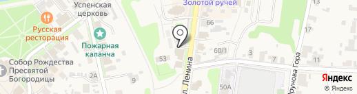 КРИСТАЛЛ ПЛЮС на карте Суздаля