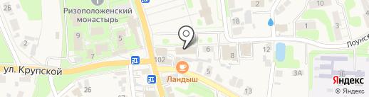 УФК на карте Суздаля