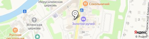 Шишилов на карте Суздаля