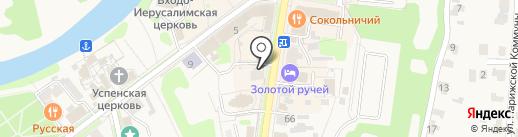 Владимирские узоры на карте Суздаля