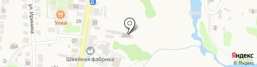 Суздальагропромэнерго на карте Суздаля