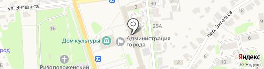 Территориальная избирательная комиссия Суздальского района на карте Суздаля