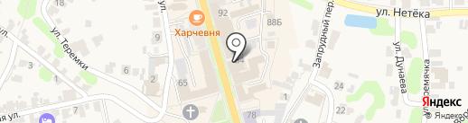 ГАРДЕРОБчик на карте Суздаля