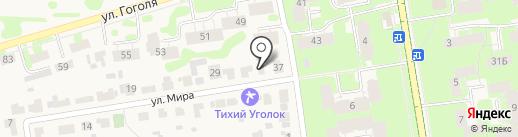 Улей на карте Суздаля