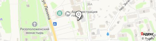 Отдел социальной защиты населения на карте Суздаля
