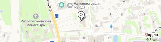 Областное проектно-изыскательное архитектурно-планировочное бюро в Суздальском районе на карте Суздаля