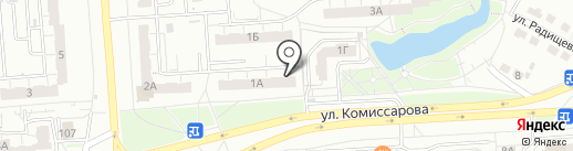 Ковчег, ТСЖ на карте Владимира