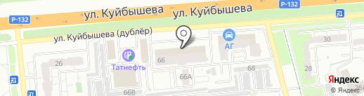 Уральский банк реконструкции и развития, ПАО на карте Владимира