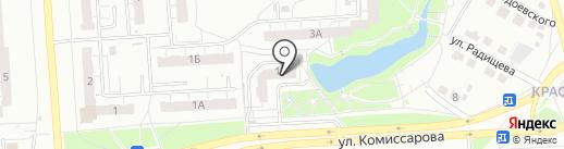 Редкая марка на карте Владимира