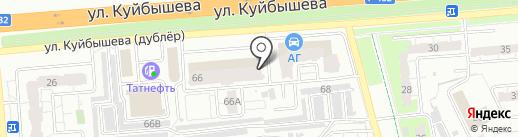 Хамелеон на карте Владимира