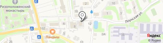 АН Град Суздаль на карте Суздаля