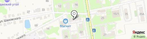 Апартаменты на Всполье на карте Суздаля