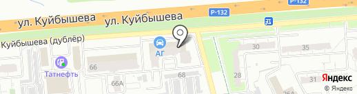 Я.Фермер на карте Владимира