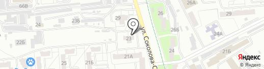 Строитель на карте Владимира