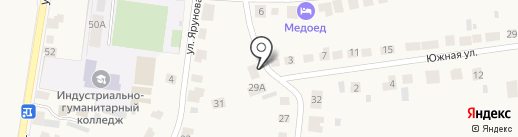 На Шевченко на карте Суздаля
