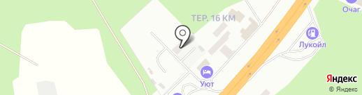 Магазин автозапчастей на карте Владимира