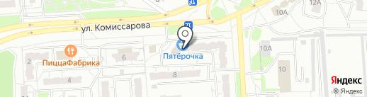 Ателье на карте Владимира