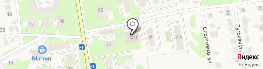Кенгуру на карте Суздаля