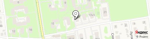Катерина на карте Суздаля