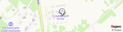 Всполье на карте Суздаля