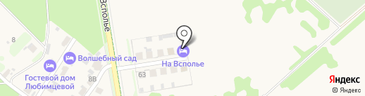 На Всполье на карте Суздаля