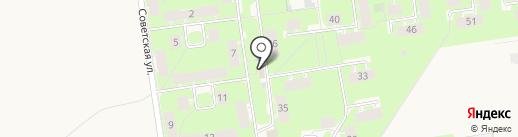 Алена на карте Суздаля