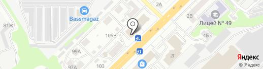 Evita на карте Владимира