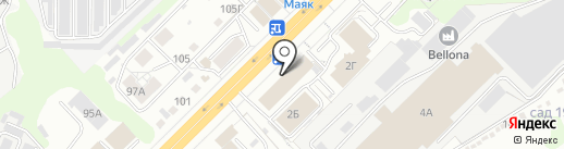 Ларец уюта на карте Владимира