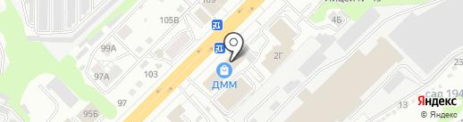 Боец на карте Владимира