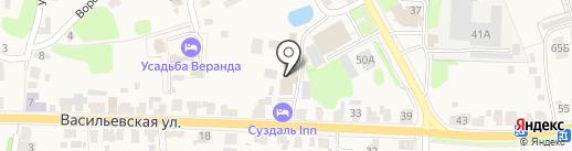 Суздаль-inn на карте Суздаля