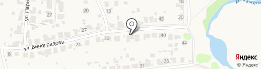 В гостях у Елены на карте Суздаля