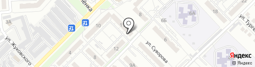 133, ТСЖ на карте Владимира