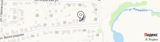 Эко Хаус У Реки на карте Суздаля