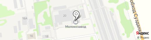 Ополье-Авто на карте Суздаля