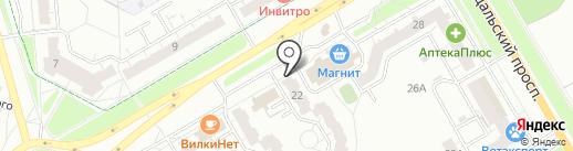 Комиссарова 22, ТСЖ на карте Владимира