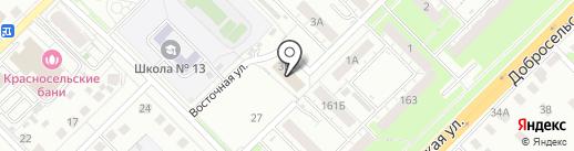 Корт на карте Владимира
