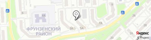 Мирабель на карте Владимира