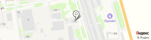 Эконом на карте Суздаля