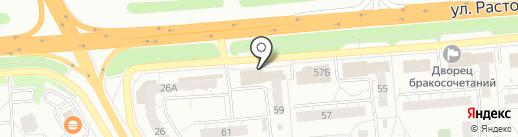 Магазин по продаже автозапчастей на карте Владимира