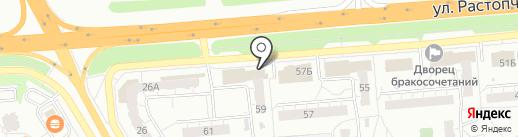 Акбат на карте Владимира
