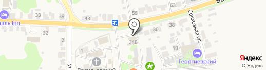 Магазин сантехники на карте Суздаля