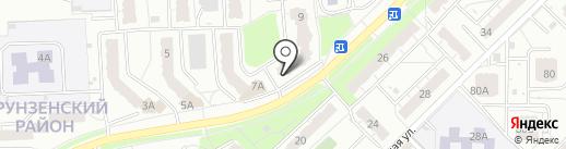 Баринъ на карте Владимира
